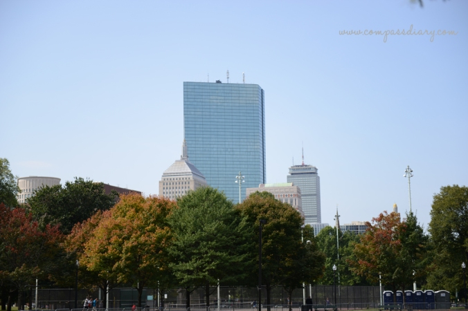 Compass diary travel blog boston 1